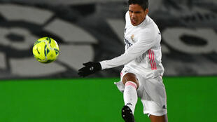 Varane and his centre-back partner Ramos will miss Real's match against Liverpool