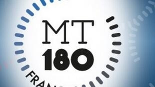 Logo du concours national «Ma thèse en 180 secondes».
