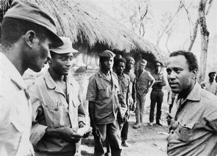 Luis Cabral, primeiro Presidente da Guiné-Bissau e vice-presidente do PAIGC, junho 1974
