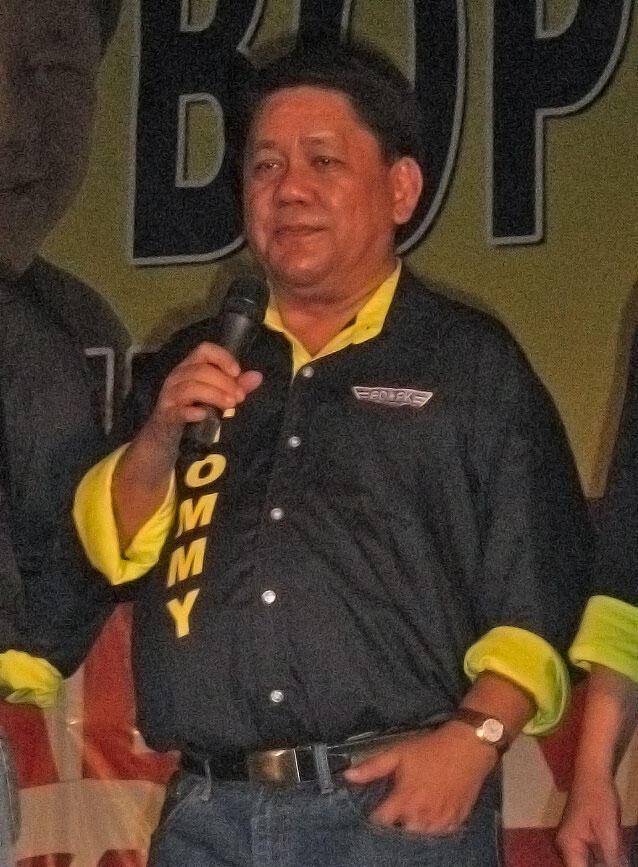 Ông Tomas Osmena, tân thị trưởng Cebu, Philippines.