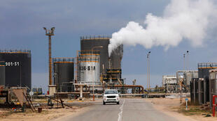 La raffinerie de Zawia, à l'ouest de Tripoli en Libye.