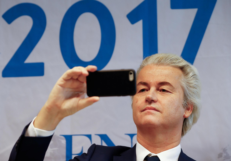 O deputado Geert Wilders xenófobo e anti-islâmico pode ser o próximo premiê da Holanda.