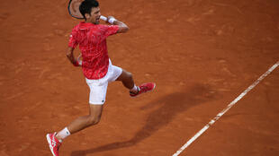Top seed Novak Djokovic is seeking a second French Open title