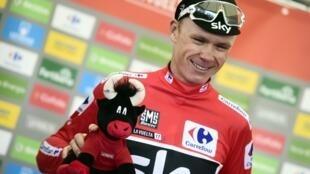 El británico Christopher Froome se ha coronado campeó de la Vuelta a España 2017.
