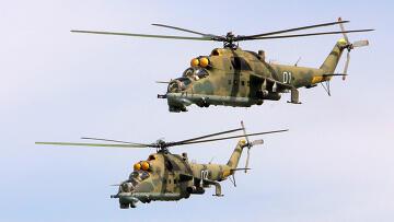 ឧទ្ធម្ភាគចក្ររុស្ស៊ីធុន Mi-35 et Mi -17 ដែលប្រទេសម៉ាលីសុំស្នើទីក្រុងម៉ូស្គូ លក់មកឲ្យខ្លួន