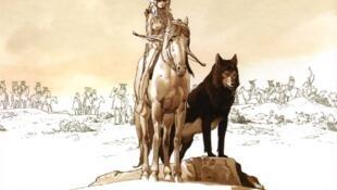 Couverture de la bande dessinée «Le coeur des Amazones», de Christian Rossi et Géraldine Bindi.