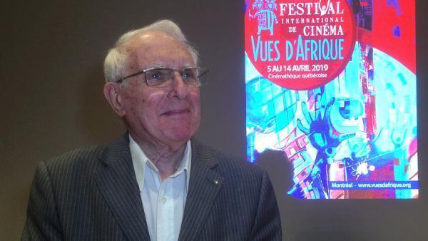 Gérard Le Chêne, président et cofondateur du festival international du cinéma africain Vues d'Afrique, ici en 2019.