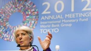 Christine Lagarde est montée au créneau, à la demande des émergents.