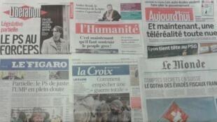 Imprensa francesa do dia 9.2.2015