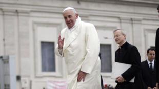 O Papa Francisco deve visitar Israel em maio
