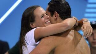 如今姐弟二人已经实现了一个同时参加奥运比赛的梦想,而且姐弟二人同样拥有奥运会游泳冠军的称号。