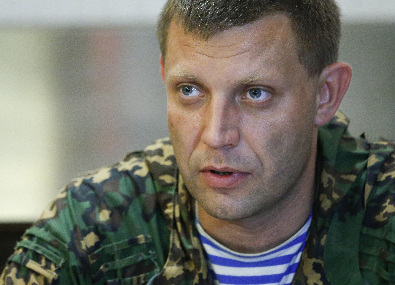 Премьер-министр так называемой «Донецкой народной республики» Александр Захарченко