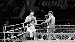 Mohamed Ali et Georges Foreman, 1974.