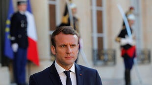 rench President Emmanuel Macron attends a meeting at the Elysee Palace in Paris, France May 21, 2017.