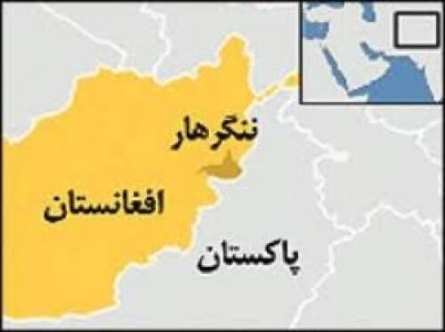 موقعیت جغرافیایی ولایت ننگرهار بروی نقشه افغانستان