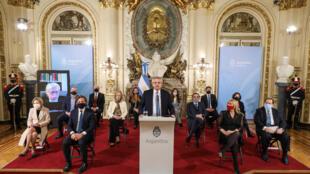 Presidente argentino, Alberto Fernández, anuncia Reforma da Justiça