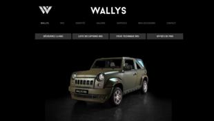 Site internet de Wallys Car. L'entreprise prévoit de multiplier par deux sa production chaque année d'ici à 2020, ainsi que son chiffre d'affaires.