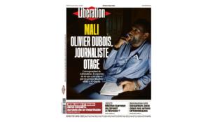 Couverture Libé Olivier Dubois