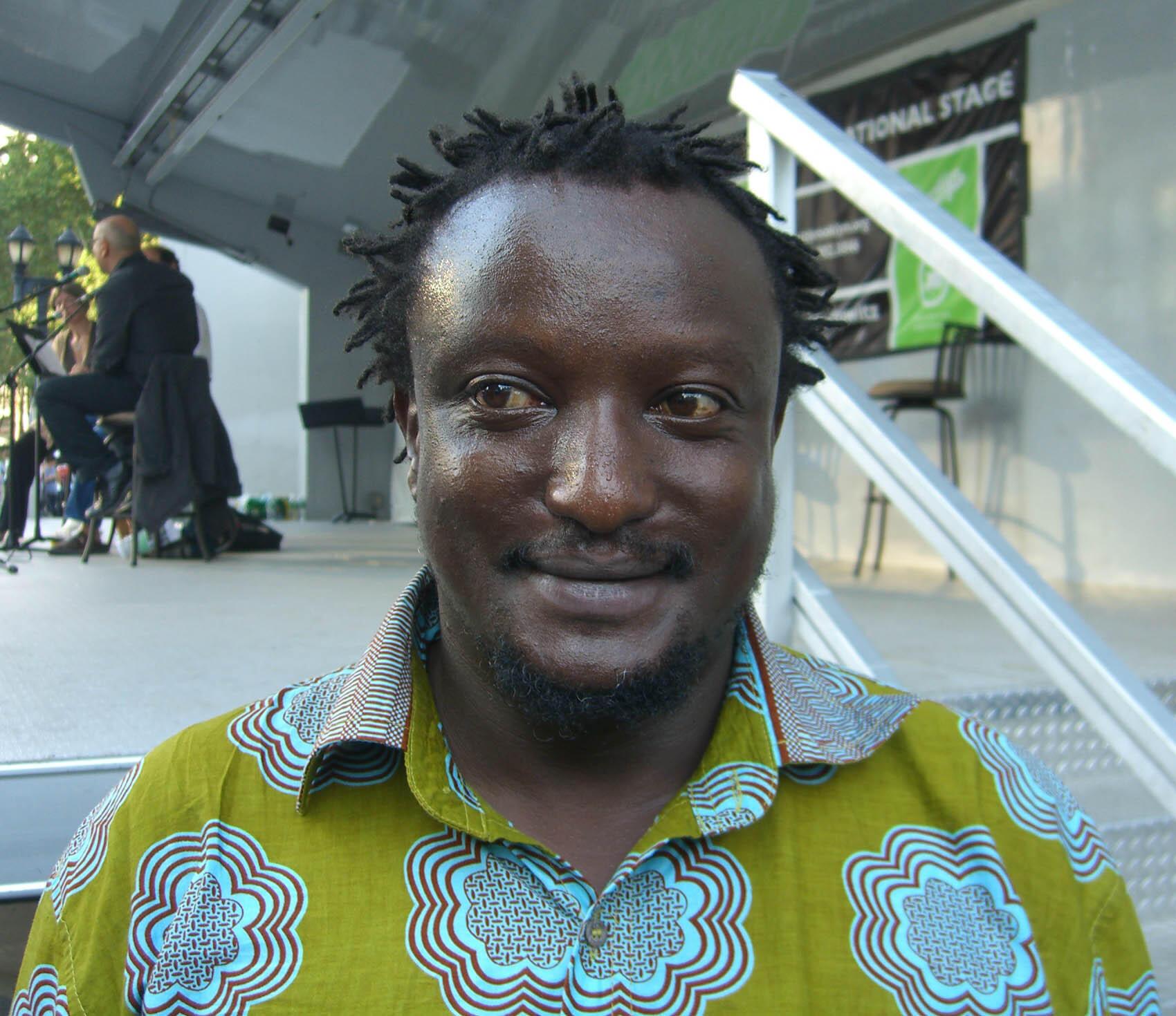 Kenyan writer and LGBTQ activist Binyavanga Wainaina