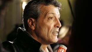 Le syndicaliste Edouard Martin, le 5 décembre 2012.