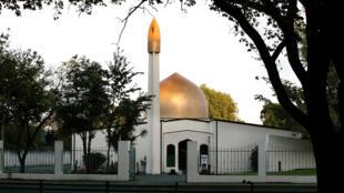 新西蘭基督城遭槍擊的Al Noor清真寺2014年資料圖片