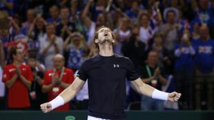 Andy Murray ha sentenciado la semifinal Gran Bretaña-Australia ganando los tres puntos disputados en Glasgow.