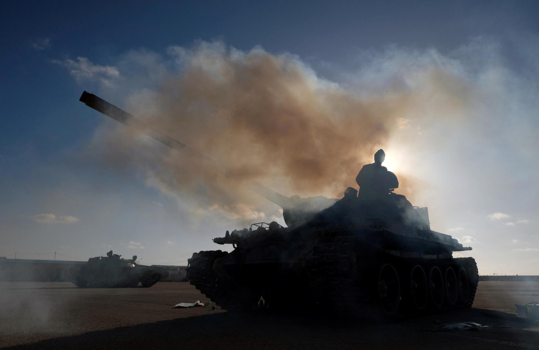 Гражданская война в Ливии продолжается в 2014 года