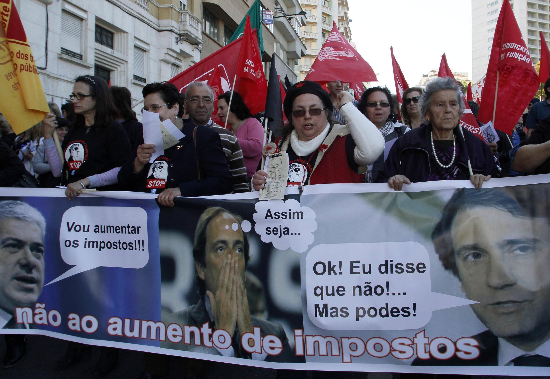 Los portugueses rechazan las medidas draconianas.