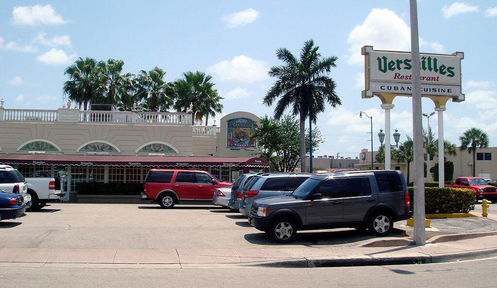 El restaurante Versailles, en Little Havana, Miami, Florida.