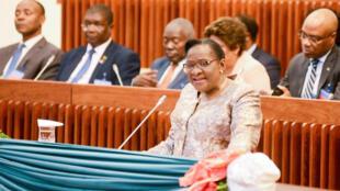 Verónica Macamo, nova chefe da diplomacia moçambicana