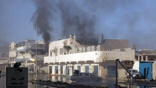 Fighting continues in some parts of Kadhafi's hometown of Sirte
