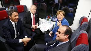 Líderes europeus inauguraram o túnel de Saint - Gauthard