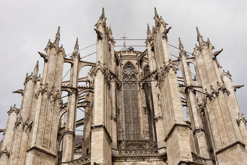 Собор в Бове — самый высокий готический средневековый собор в мире