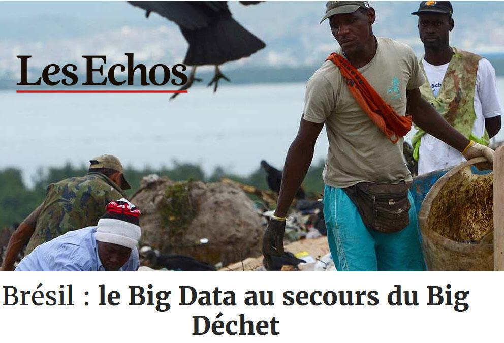 Matéria publicada no jornal Les Echos nesta sexta-feira (4).
