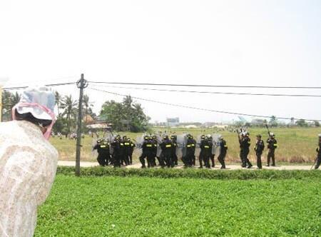 Công an Đà Nẵng dọa bắt giáo dân Cồn Dầu