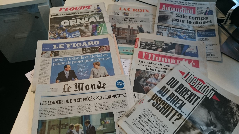 Diários franceses 28.06.2016