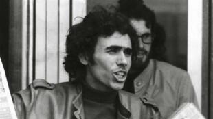 Benjamin Stora en 1970 à Nanterre. Né en 1950 à Constantine, c'est son engagement politique qui l'a conduit à s'intéresser à la guerre d'Algérie.