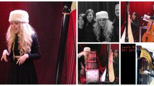 Kyrie Kristmanson & Quatuor Voce et Laure Brisa à RFI.