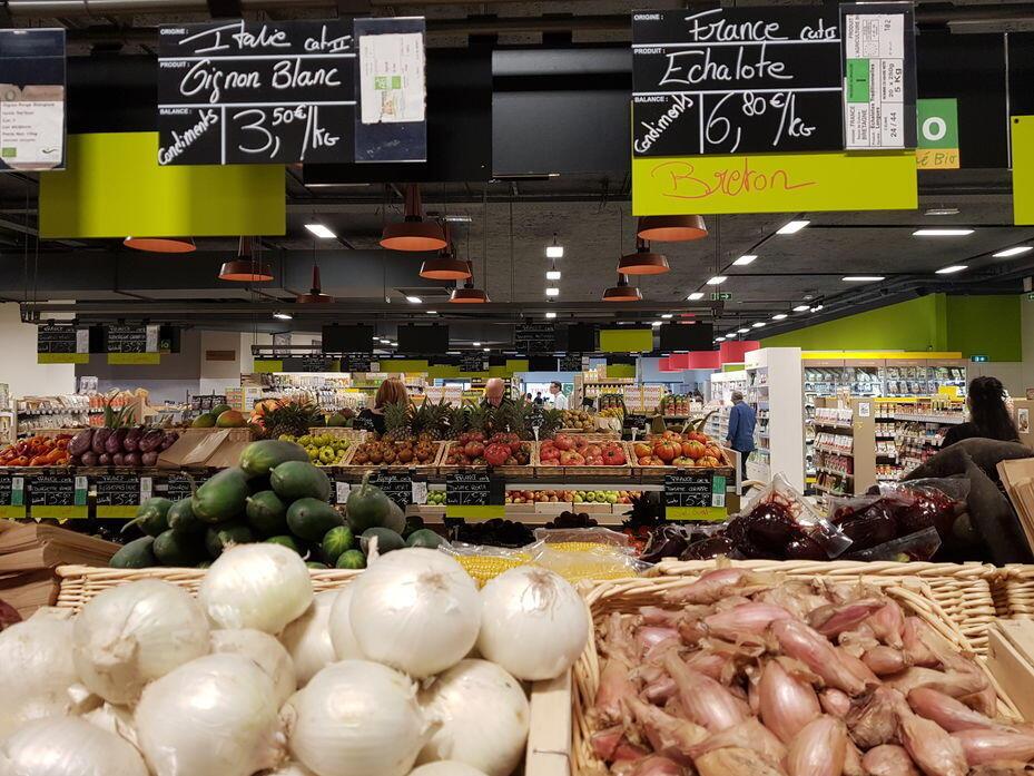 A Interfel, que representa o setor de frutas e legumes, observou um aumento de 4,5% das vendas de orgânicos em 2020, quase a metade da média registrada nos anos anteriores.