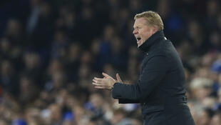 Ronald Koeman's Everton rise to eighth following their victory over Arsenal.