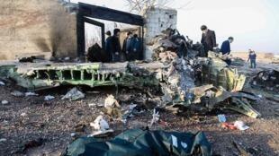 Avion abbatu à Téhéran