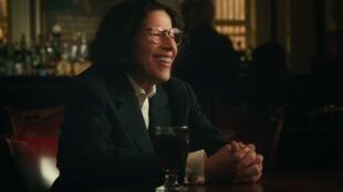 Fran Lebowitz dans la mini-série « Si c'était une ville » de Martin Scorsese.  © Netflix