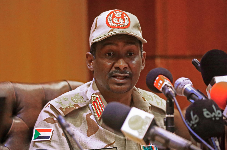 Mohammed Hamdan Dagalo, à Khartoum, le 30 avril 2019.