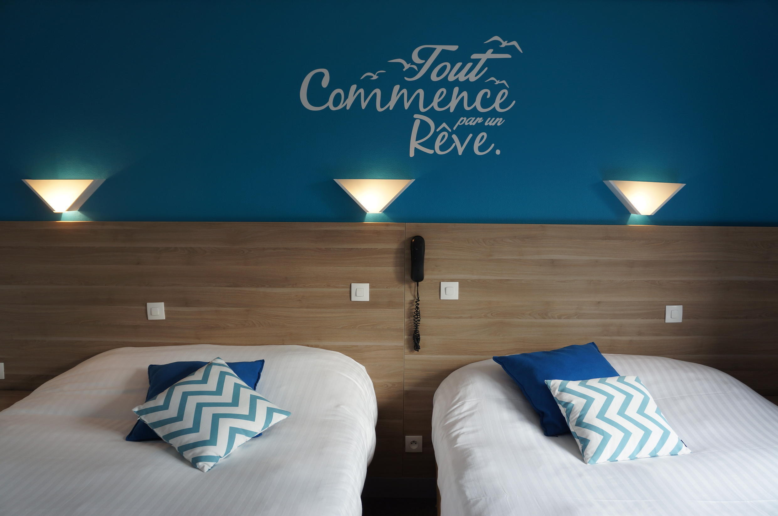 """The hotel Le Petit Vatel in the Norman town of the Harve is one of several hotels that have joined forces under a new campaign called """"I choose France"""" to lure travelers to book with them directly."""