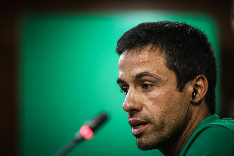 Emanuel Ferro, treinador-adjunto do Sporting CP.