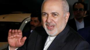 伊朗外長紮里夫14日抵達新德里訪問