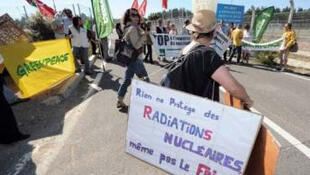Greenpeace activists break into nuclear plant near Paris