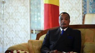 Le président congolais Denis Sassou-Nguesso, le 27 mars 2017 (photo d'illustration).