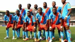 L'équipe de football de la RD Congo.