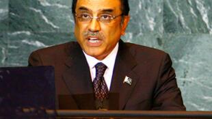 Pakistani Asif Ali Zardari